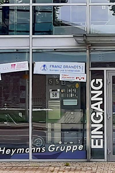 Tagansicht Franz Brandts